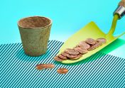 Photo illustration to accompany article on how to set up an emergency fund