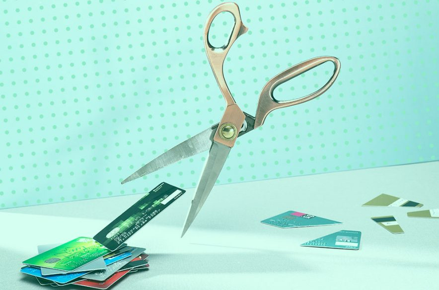 Photo illustration to accompany article on debt-consolidation strategies