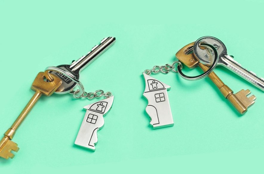 Image to accompany Q&A article about buying a house with friends