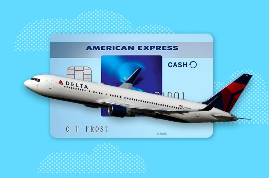 Photo to accompany story about AmEx offer for Delta flights.