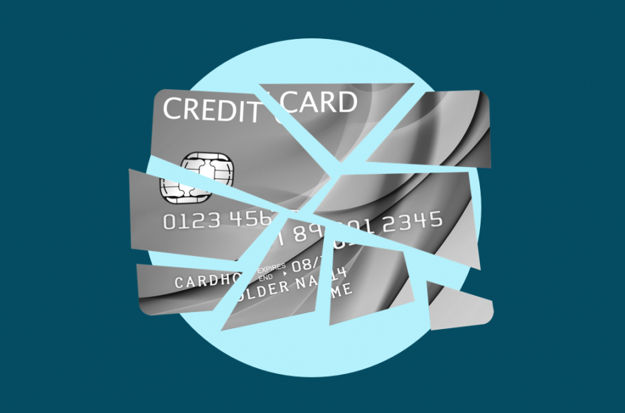Photo to accompany story about how to cancel a credit card.
