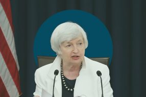 Photo to accompany story about Janet Yellen.