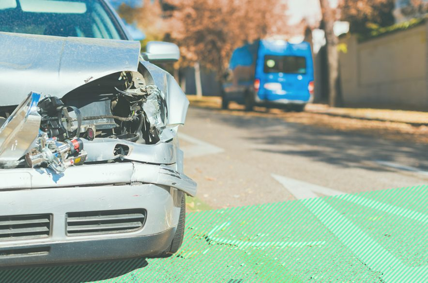A photo to accompany a story about the average cost of car insurance
