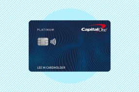 A photo to accompany a story about the Capital One Platinum Card