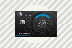 A photo to accompany a story about the Citi Prestige Card