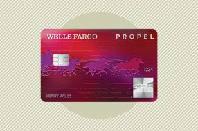 A photo to accompany a story about the Wells Fargo Propel American Express Card