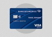A photo to accompany a story about the Bank of America Travel Rewards Credit Card