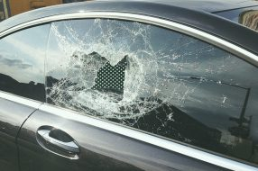 A photo to accompany a story about car theft