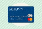 A photo to accompany a review of the Milestone Gold Mastercard