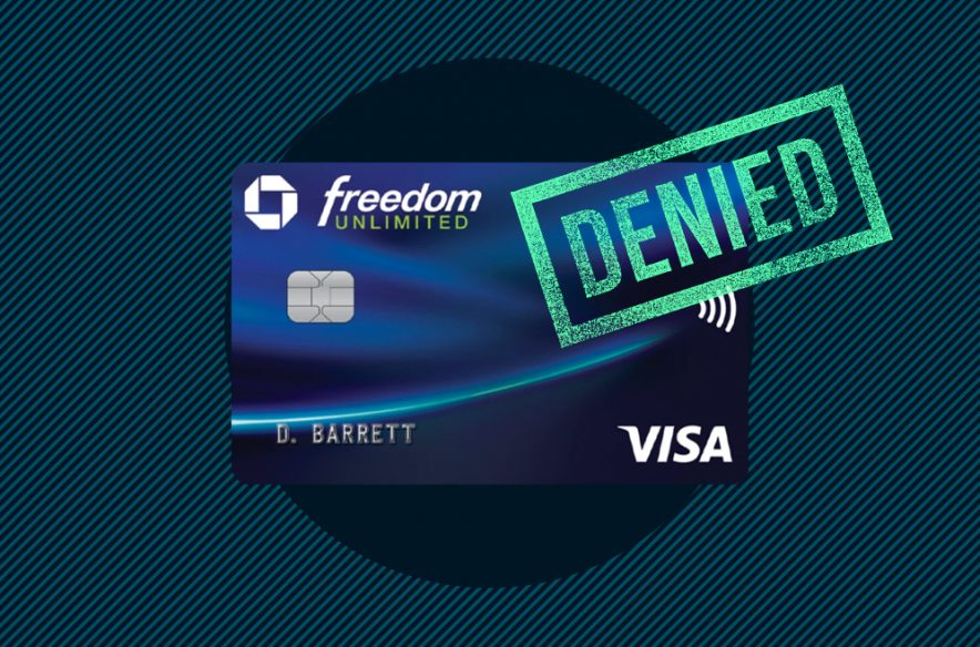 A photo to accompany a story about applying for the Chase Freedom Unlimited Card