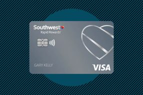 A photo to accompany a story about the Southwest Rapid Rewards Plus Visa Signature Card