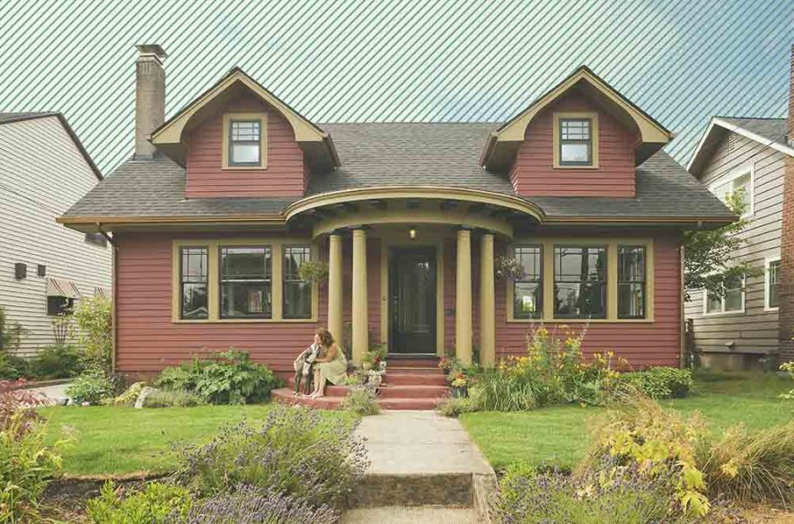 A photo to accompany a story about refinancing an FHA mortgage to a conventional loan