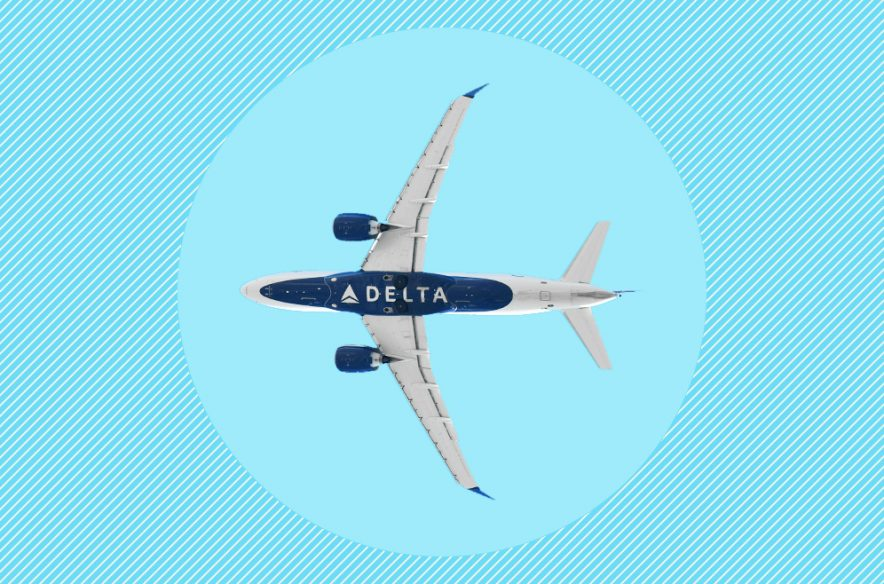 A photo to accompany a story about the value of Delta SkyMiles