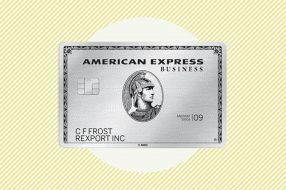 A photo to accompany a story about the American Express Business Platinum card