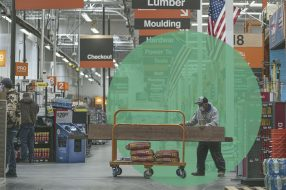 A photo to accompany a story about the Home Depot credit card