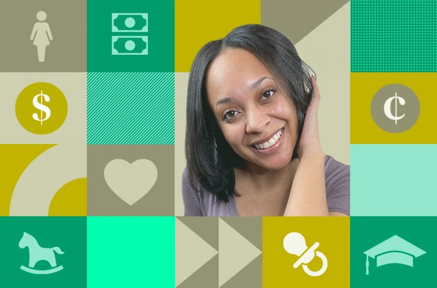 Before becoming a budget coach, Dyana King was a broke single mom. Now, she shares tips on how to get out of the scarcity mindset that kept her from wealth.