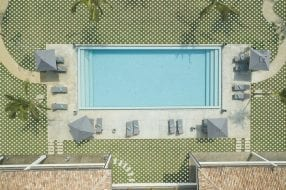 A photo to accompany a story about financing a swimming pool