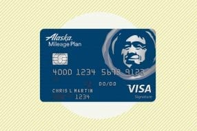 A photo to accompany a review of the Alaska Airlines Visa Signature Credit Card