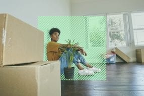 A photo to accompany a story about homeowners insurance for first-time homebuyers