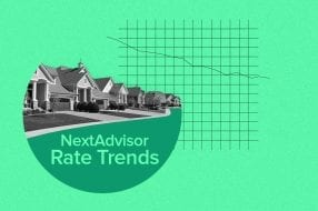 A photo to accompany a story about mortgage rate trends