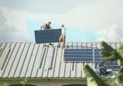 A photo to accompany a story about financing solar panels