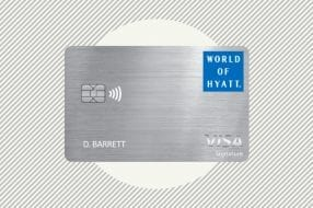 Image showing the World of Hyatt credit card