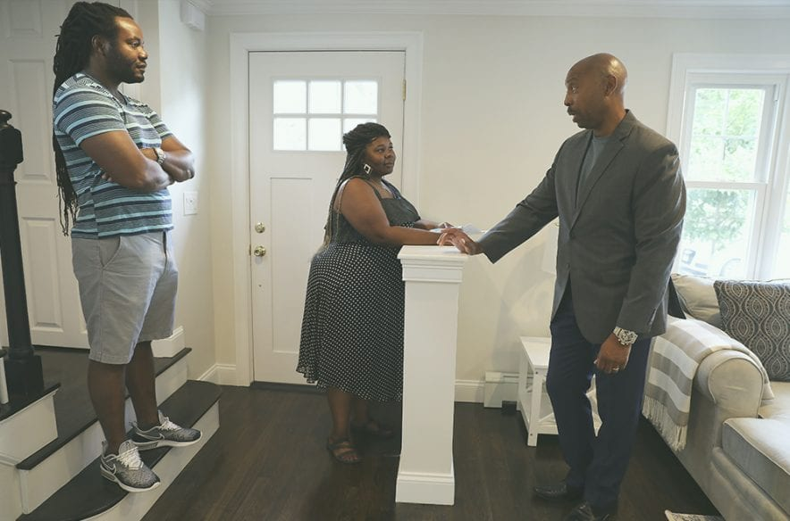 A photo to accompany a story about choosing a real estate agent
