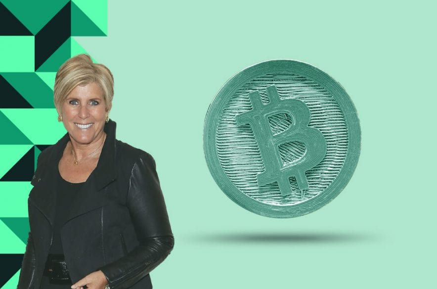 A photo to accompany a story about Suze Orman's views on cryptocurrency