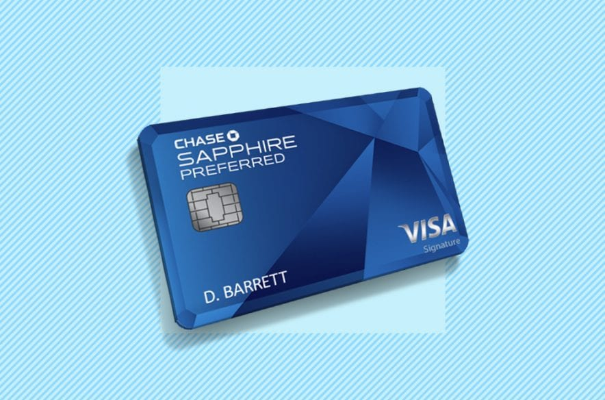 The Best Credit Card Under $6 Fee – Chase Sapphire Preferred