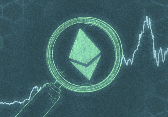 A photo to accompany a story about ethereum