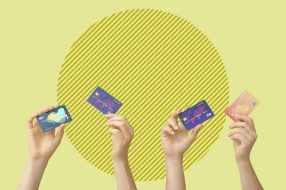 A photo to accompany a story about credit cards that offer pre-approval