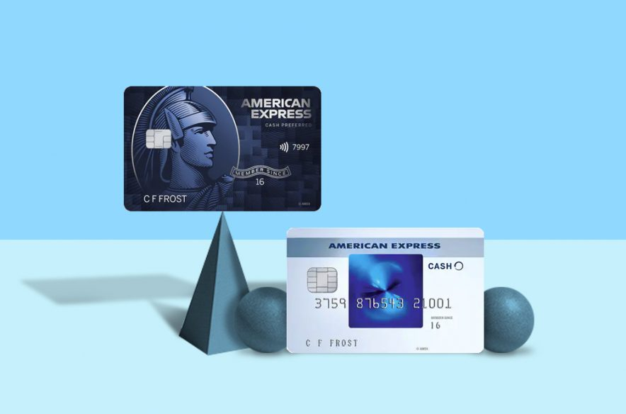 A photo to accompany a story comparing the American Express Blue Cash Everyday card and the American Express Blue Cash Preferred card