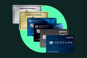 Photo illustration to accompany article on best credit cards