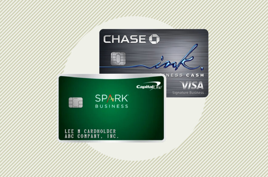 A photo to accompany a story about the Capital One Spark Cash and Chase Ink Cash cards