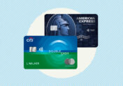 A photo to accompany a story about the American Express Blue Cash Preferred and Citi Double Cash cards