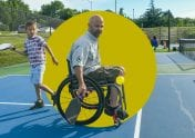 A photo to accompany a story about ableism and the wealth gap in America