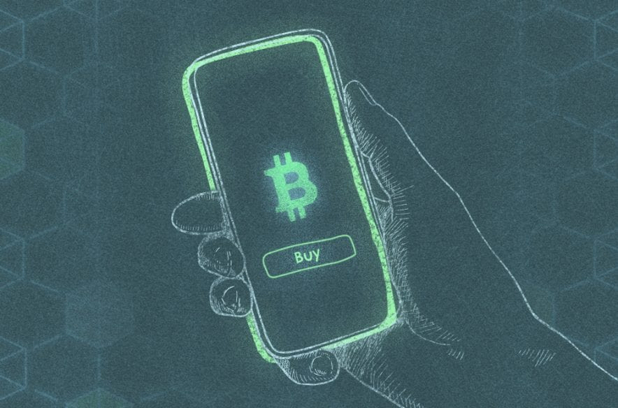 A photo to accompany a story about buying bitcoin