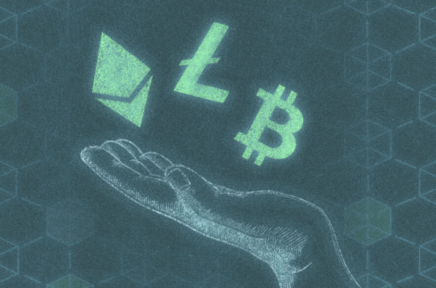 An image to accompany a story about earning free cryptocurrency