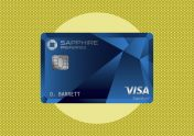 A photo to accompany a story about the Chase Sapphire Preferred card