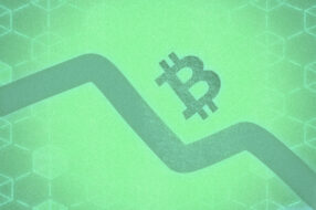 Illustration to accompany article about latest Bitcoin price drop