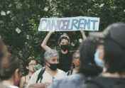 A photo to accompany a story about the eviction moratorium ending