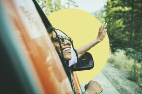 A photo to accompany a story about the best credit cards for road trips