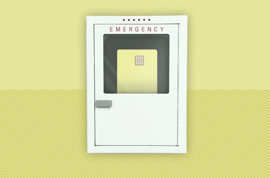A photo to accompany a story about the best credit cards for emergencies