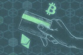 A photo to accompany a story about credit cards with cryptocurrency rewards
