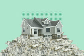 A photo to accompany a story about determining how much to offer on a house