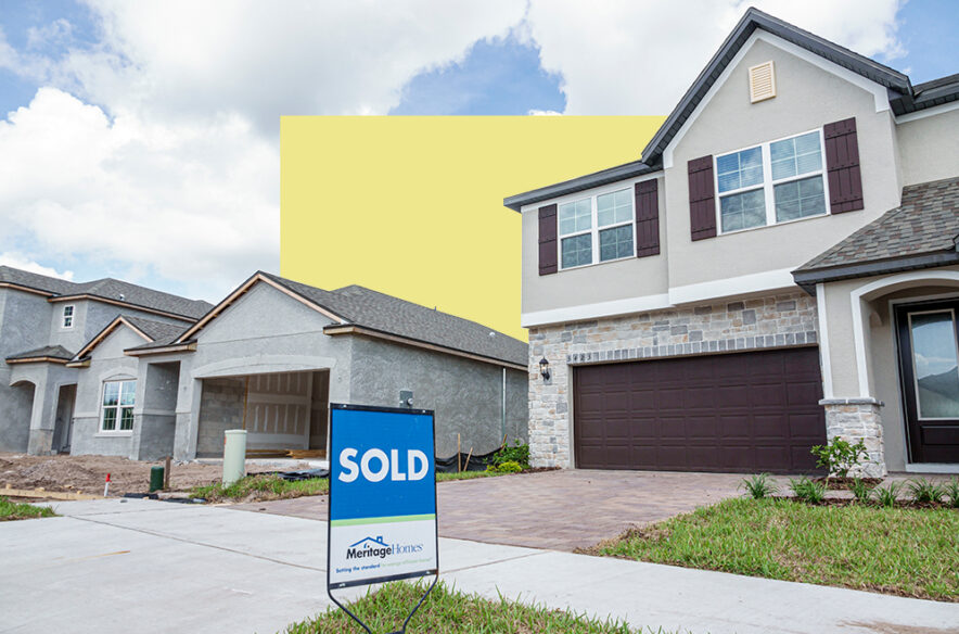 A photo to accompany a story about buying and selling a house at the same time