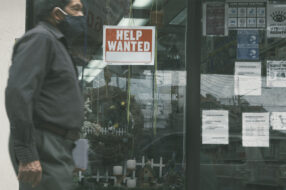 A photo to accompany a story about unemployment benefits ending