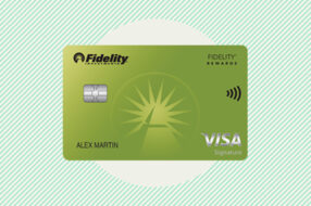 An image to accompany a review of the Fidelity Rewards Visa Signature Card
