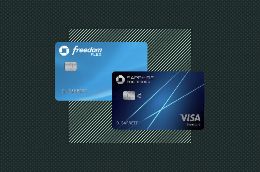 A photo to accompany a story about the Chase Freedom Flex and Chase Sapphire Preferred cards