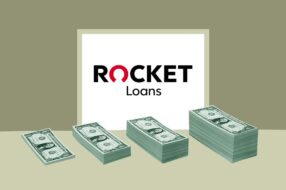 An image to accompany a review of Rocket Loans
